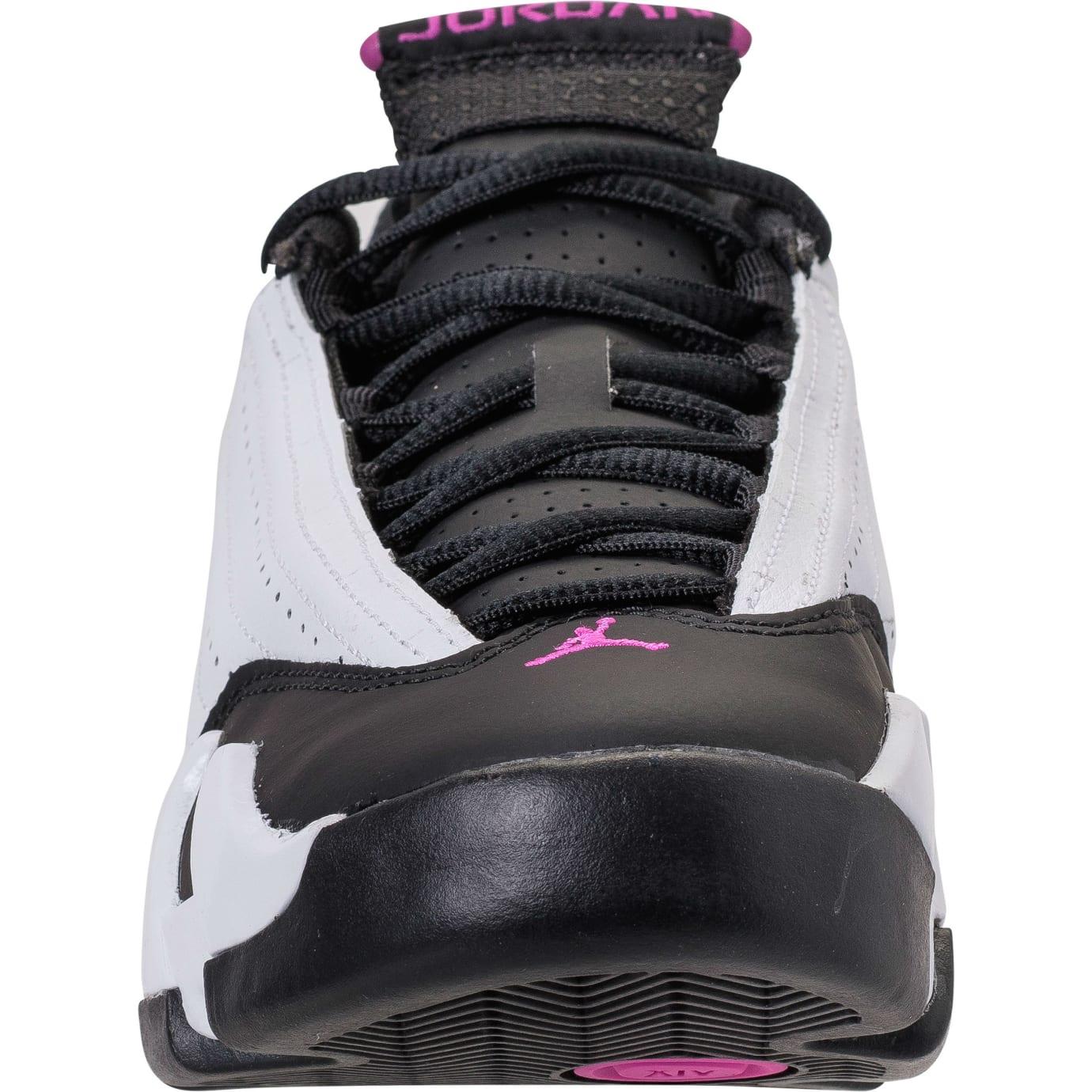 Air Jordan 14 XIV Girls Fuchsia Blast Release Date 654969-110 Front 83de5af66