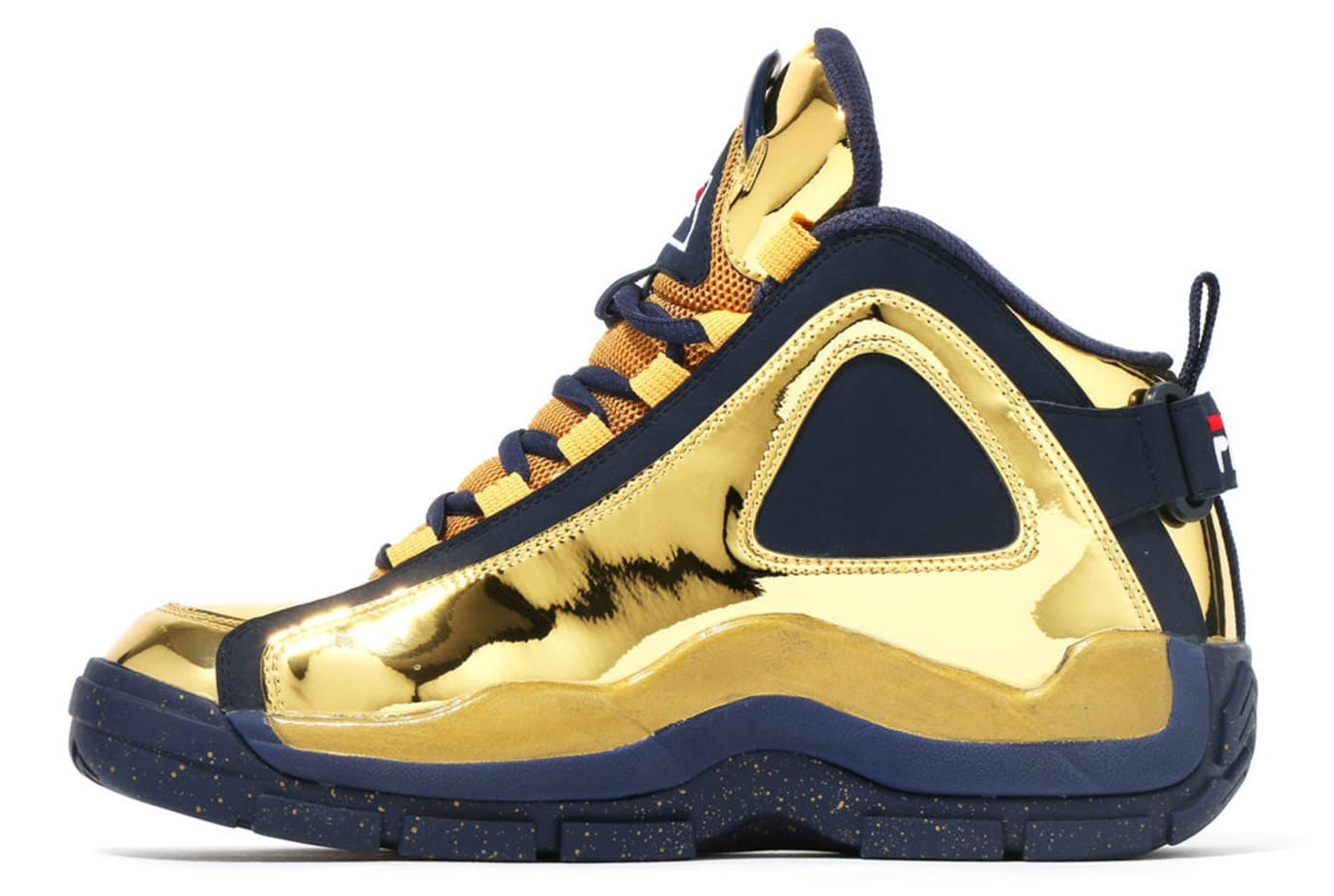Kinetics x Fila 96 Grant Hill Gold Release Date Medial