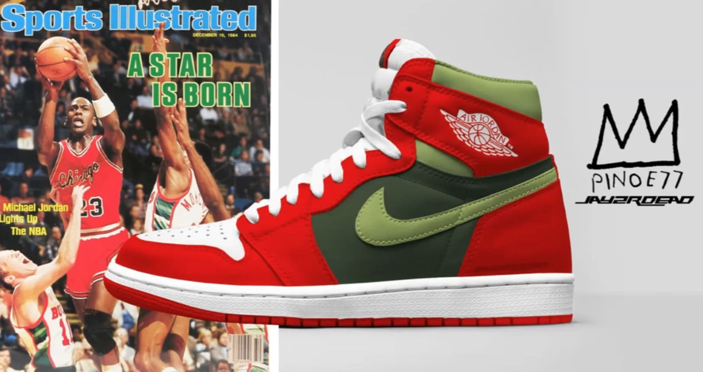 Air Jordan 1 'Sports Illustrated' Mockup