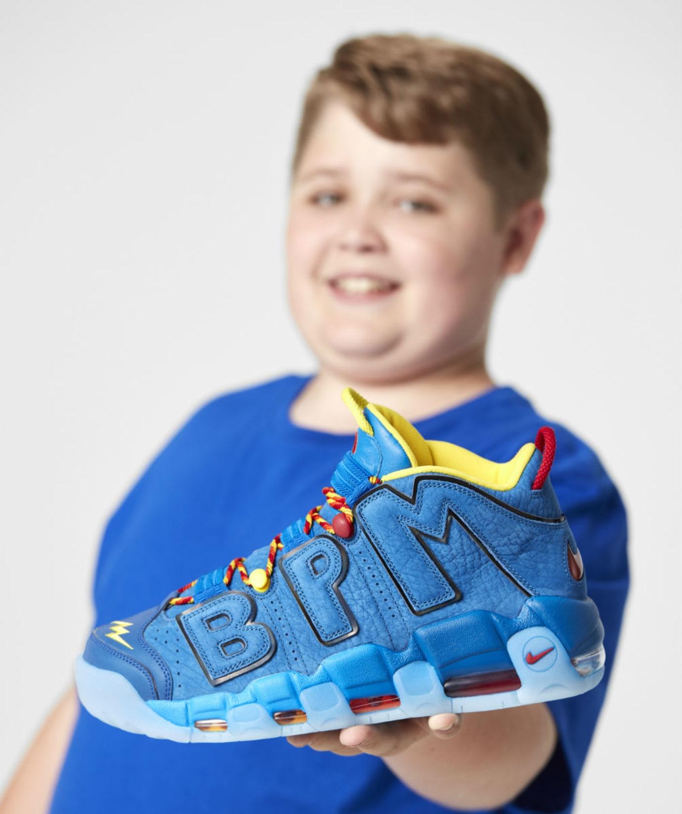 Nike Air More Uptempo Doernbecher Brody Miller Release Date AH6949-446 In-Hand