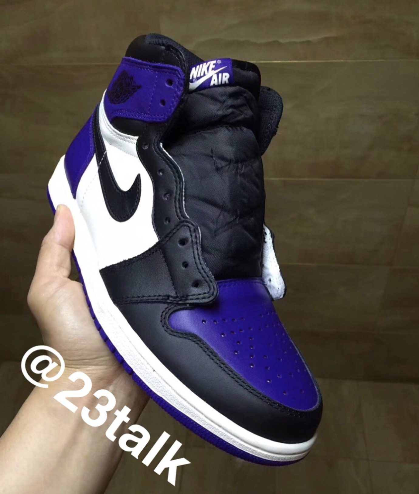 Air Jordan 1 'Court Purple' 1