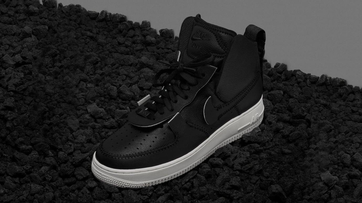 new arrival d16b9 eed11 Image via Nike PSNY x Nike Air Force 1  Black