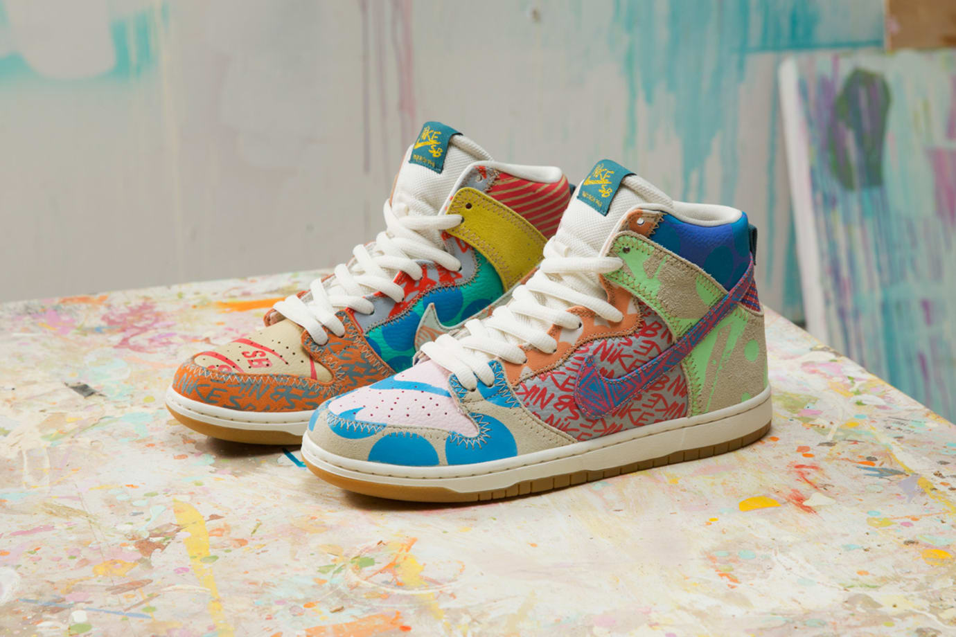 Thomas Campbell x Nike SB Dunk High Custom Packaging Limited (5)