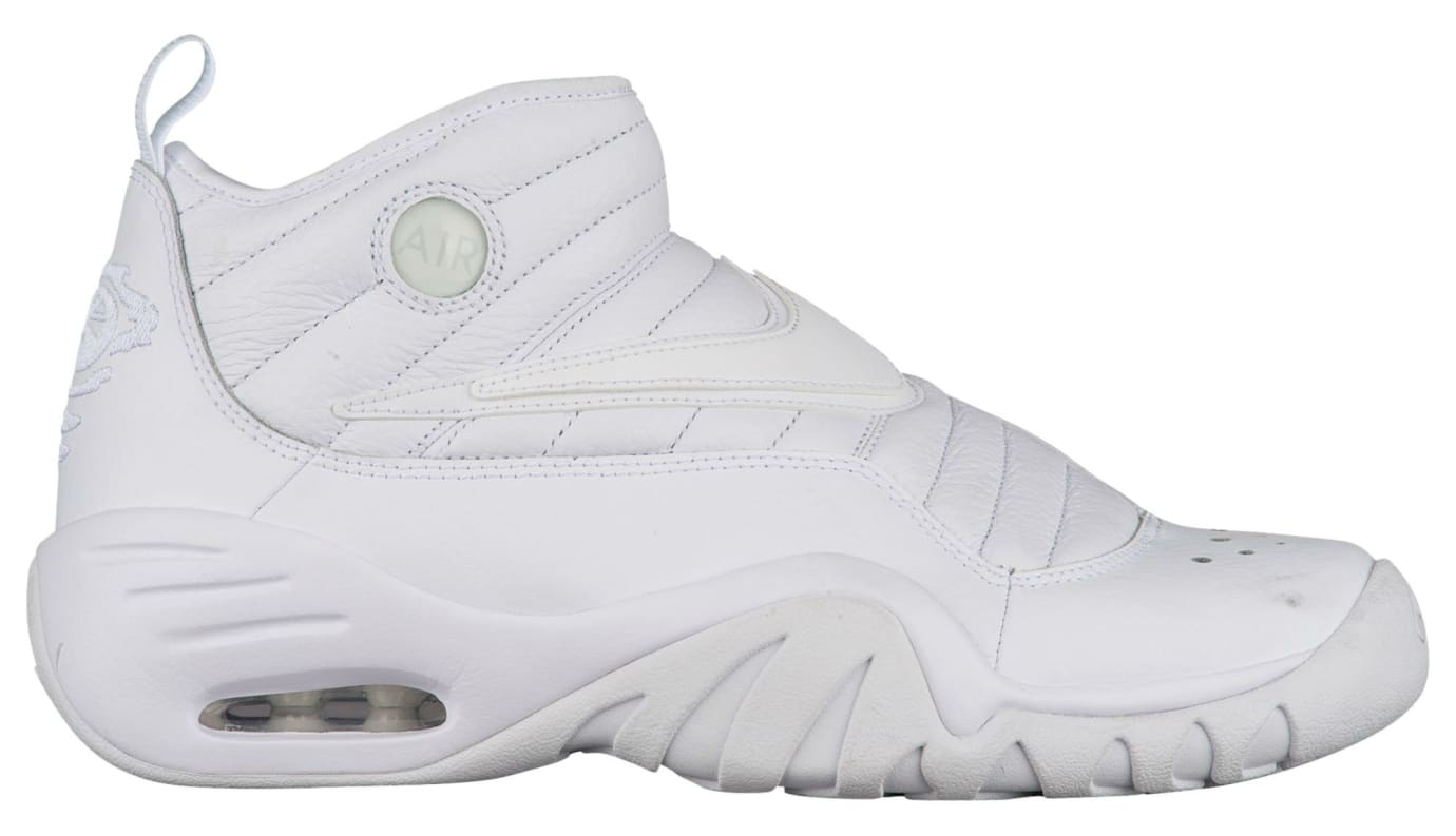 Nike Air Shake Ndestrukt All-White Release Date Profile 880869-101