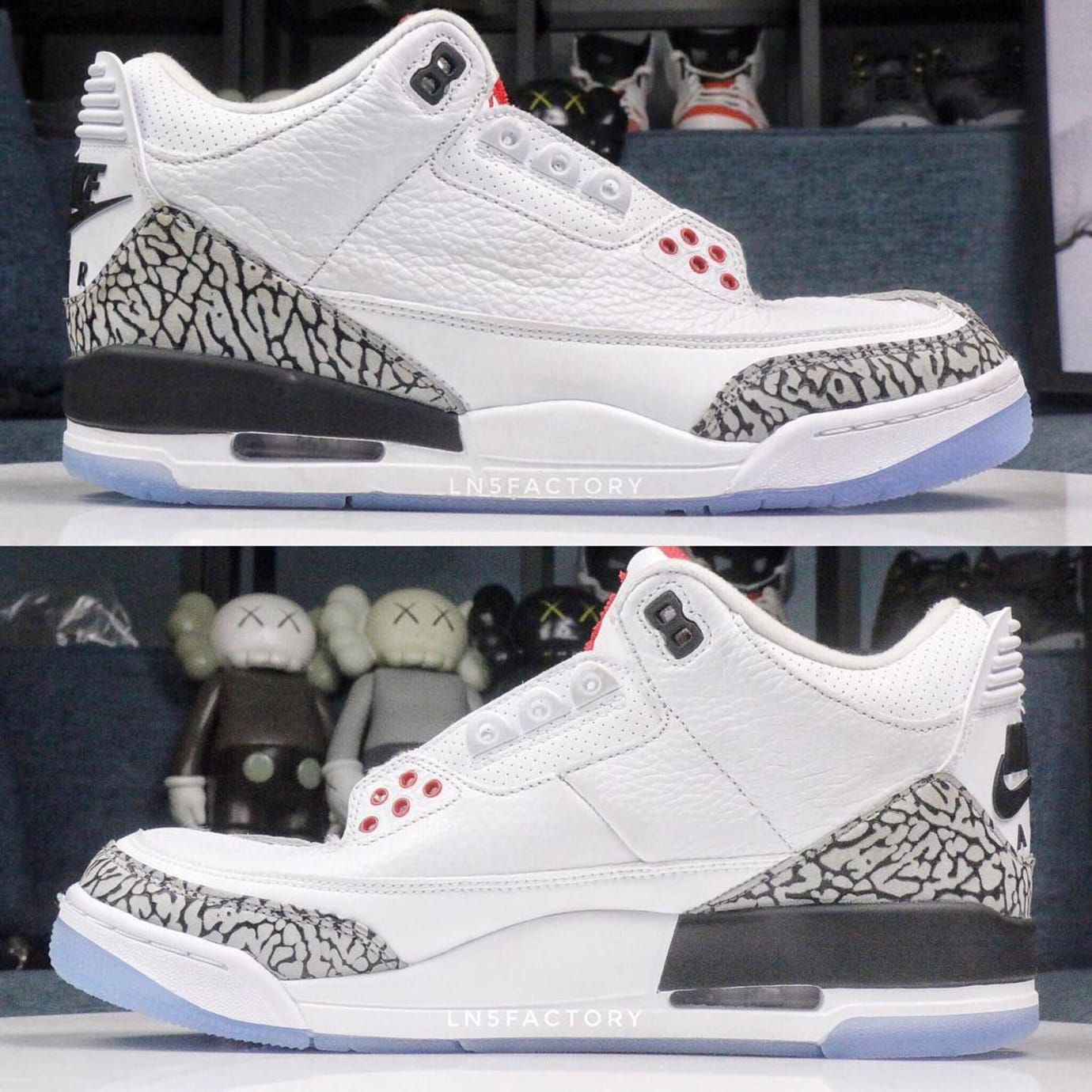 7d981f959b4bf9 Air Jordan 3 III Clear Sole 2018 Release Date 923096-101 Profile