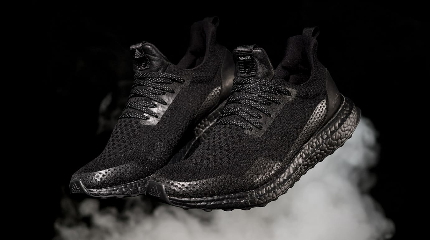 Haven Adidas Ultra Boost Triple Black