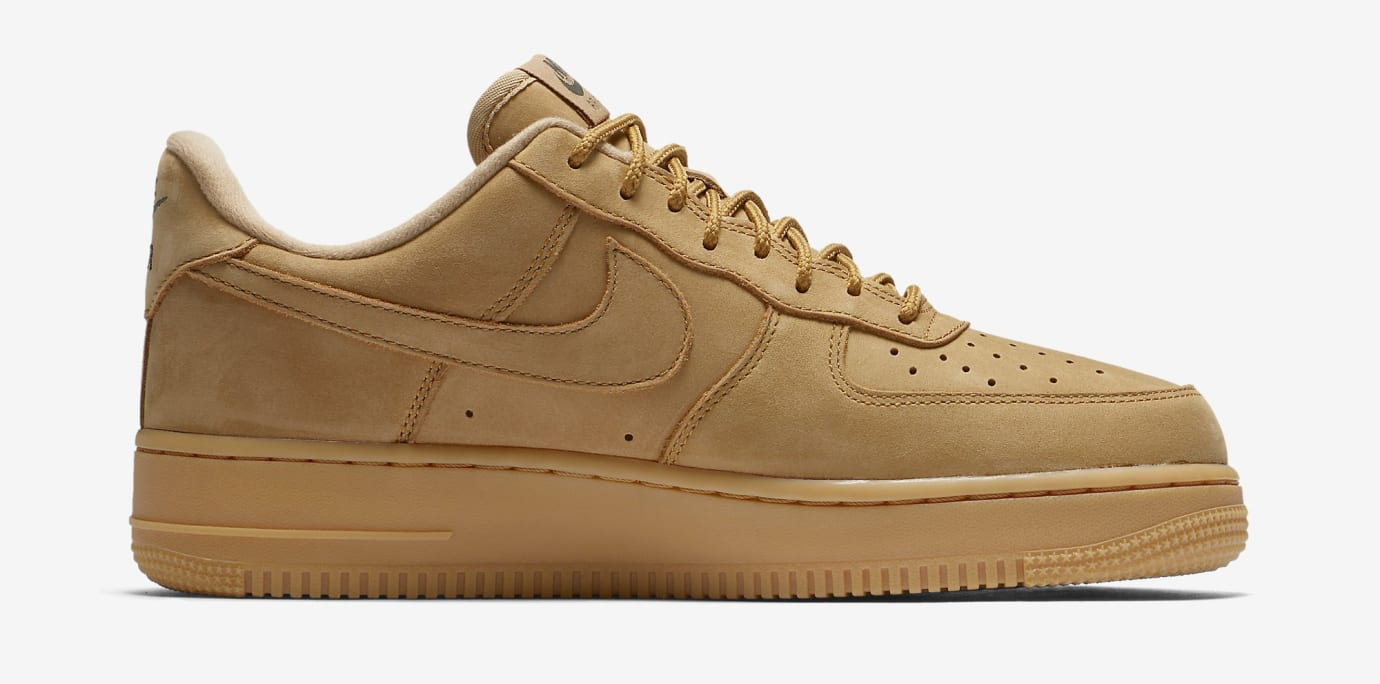 Wheat Nike Air Force 1 Low AA4016-200 Medial