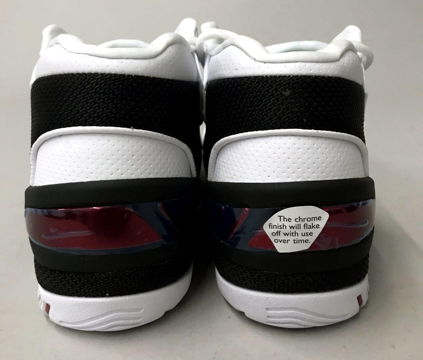Nike Air Zoom Generation Retro AJ4204-101 Heel