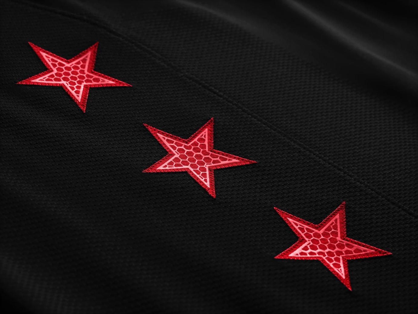 eb0ad7ffbb8 Jordan All-Star Uniform 2019 Black Stars Image via Nike