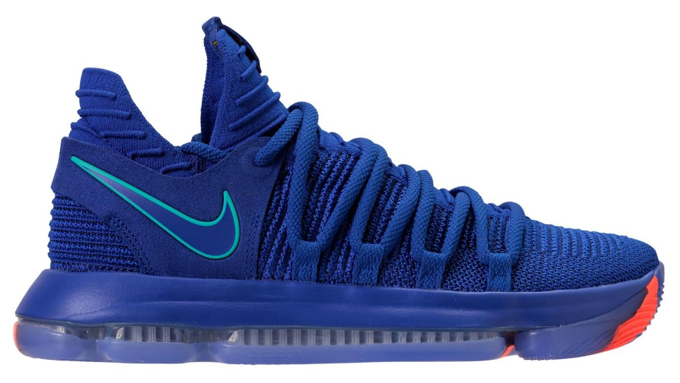 buy popular 37485 50c76 Nike KD 10 City Edition Release Date 897815-402 Profile ...