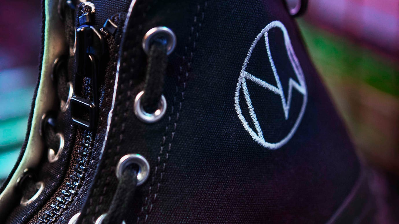 Undercover x Converse Chuck 70 'New Warriors' Black 2