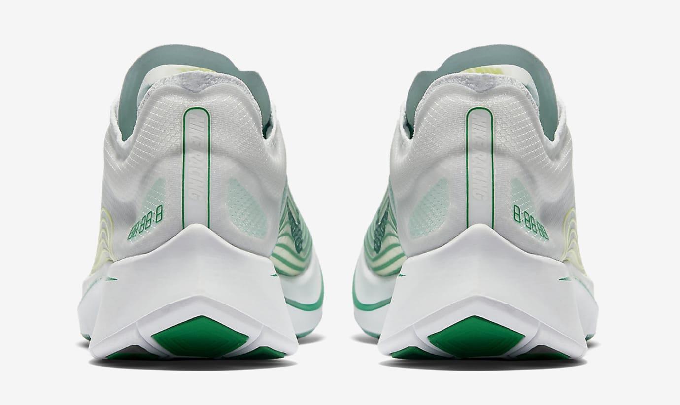 Nike Zoom Fly SP White Lucid Green AJ9282-101 Heel