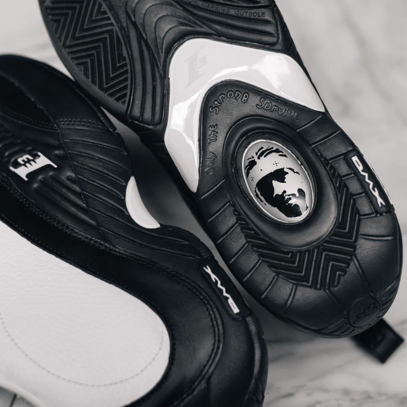 Allen Iverson Reebok Answer 4 Step Over Sneakers | Sole
