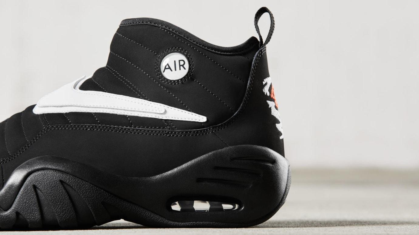 Nike Air Shake Ndestrukt Black Rear Quarter Release Date