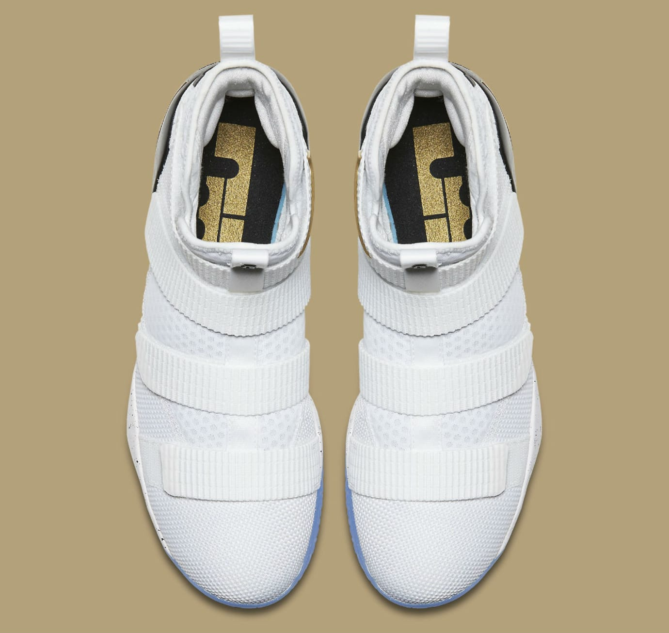 b04a5ed4e8a5 Nike LeBron Soldier 11 White Gold Black Release Date 897644-101 ...