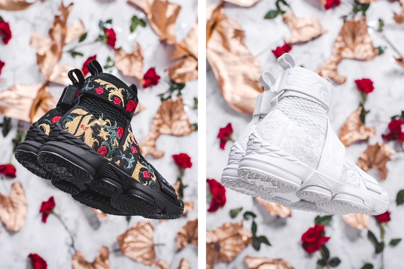 158be8683b255 Image via Kith Kith x Nike LeBron 15  Long Live the King  Chapter 2  Collection 6
