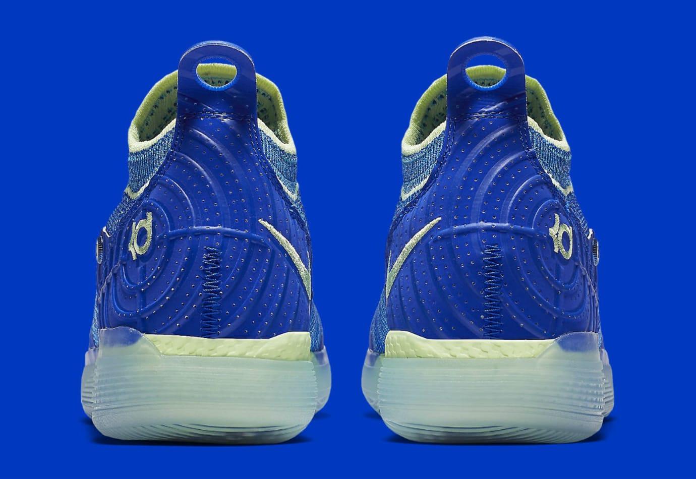 5fbdfdf3f5b Image via Nike Nike Zoom KD 11 EP Blue Release Date AO2605-900 Heel