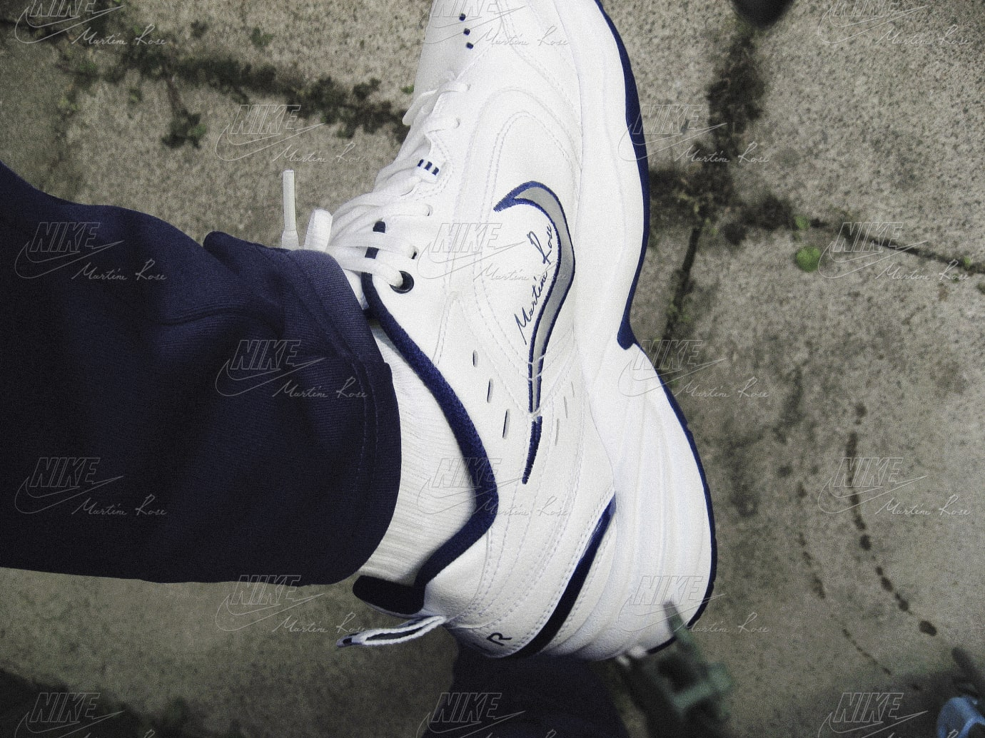 Image via Nike Martine Rose x Nike Air Monarch Collection 2 f233ee51d