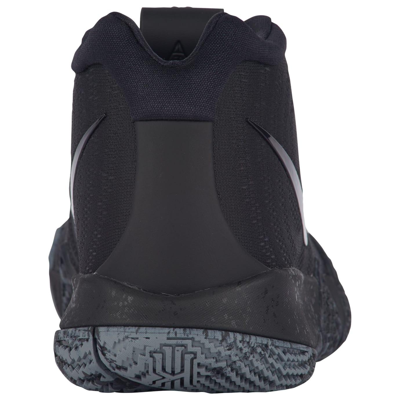 Nike Kyrie 4 Triple Black Release Date 943806-008 Heel
