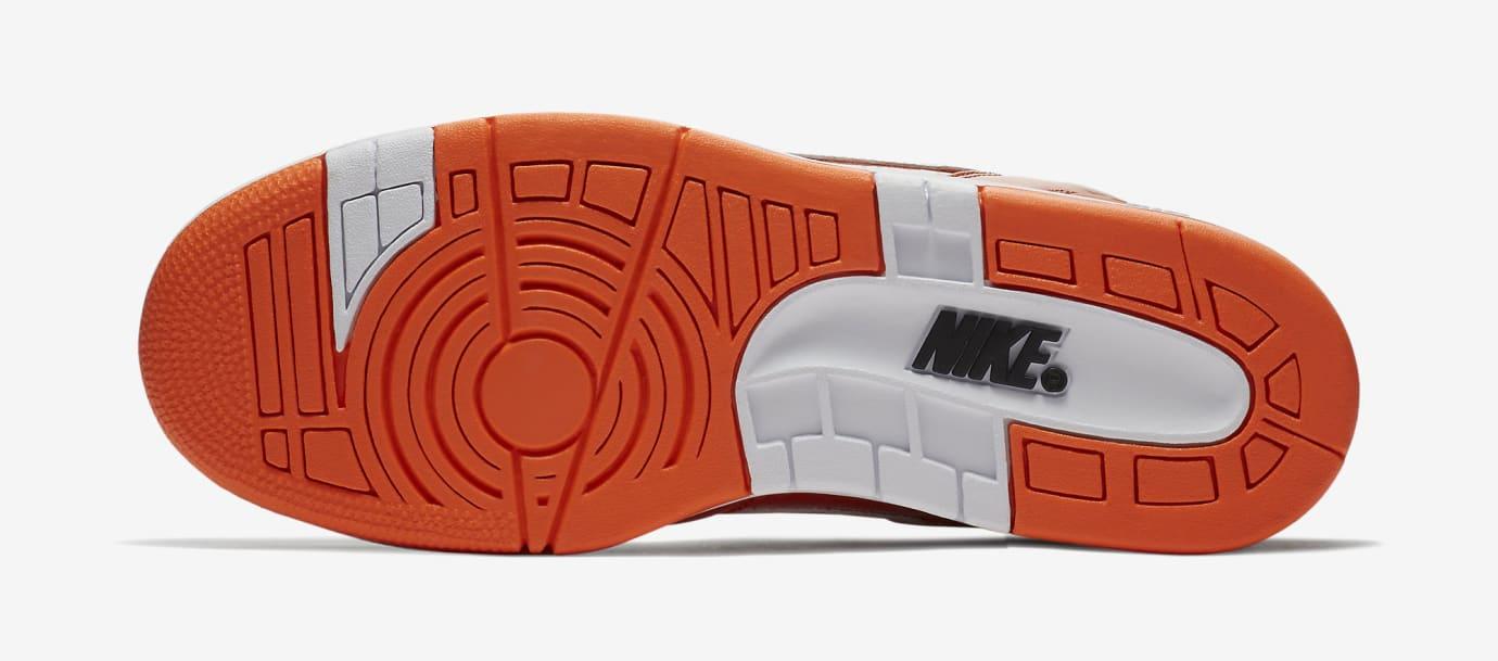 Supreme Nike SB Air Force 2 AA0871-818 Orange Sole
