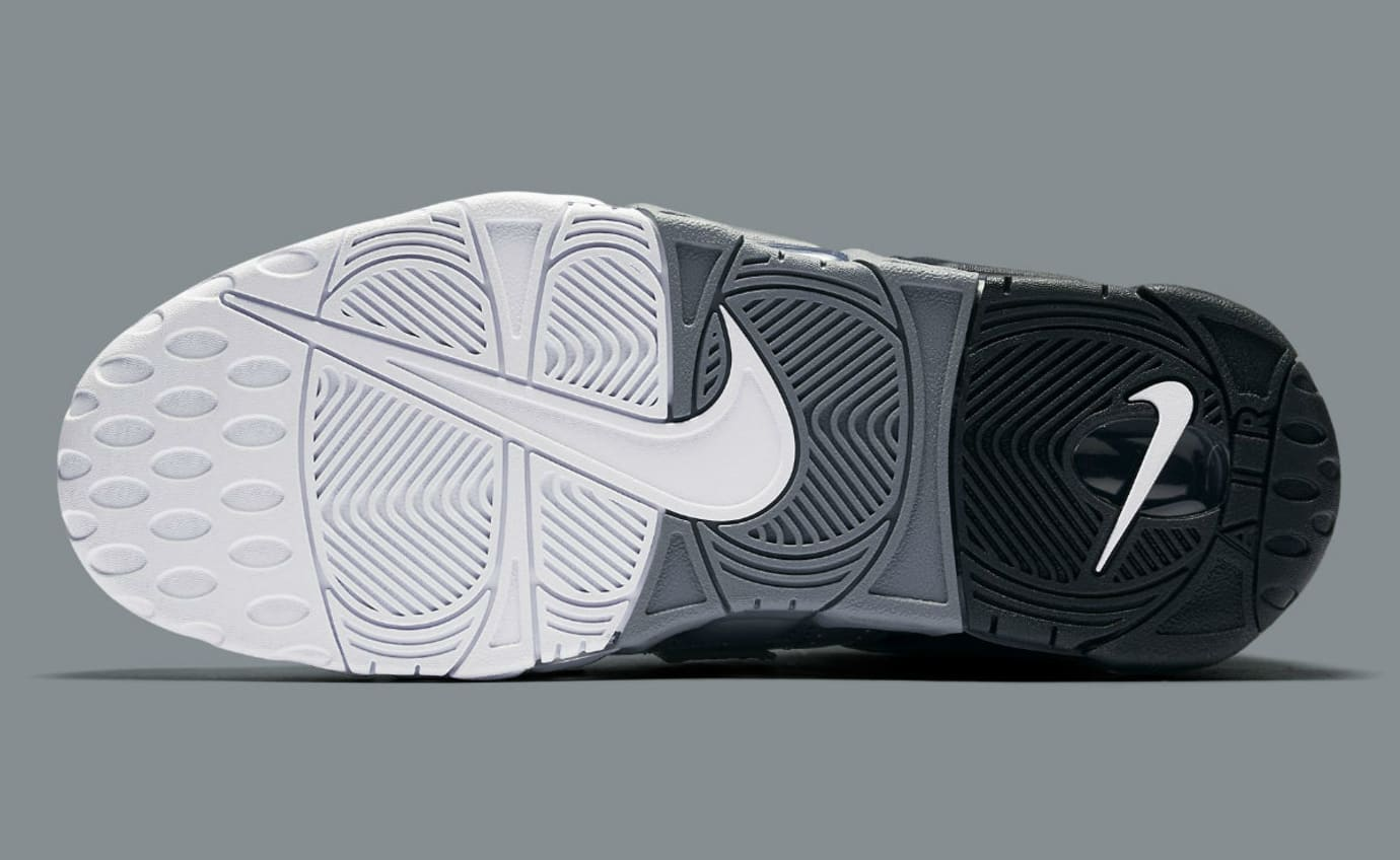 72a57cd68a7448 Nike Air More Uptempo Tri-Color Black Grey White Release Date 921948 ...