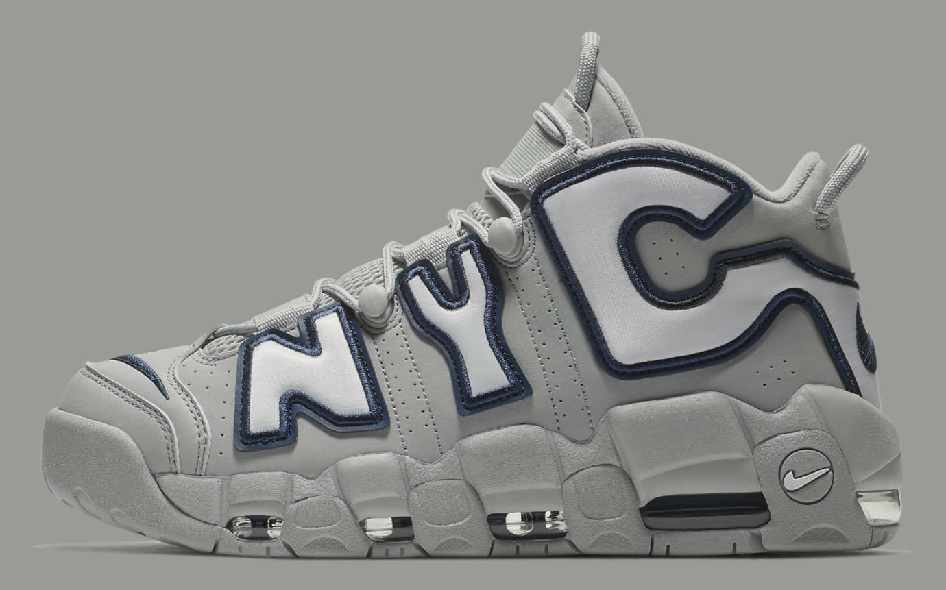Nike Air More Uptempo NYC Release Date AJ3137-001 Profile