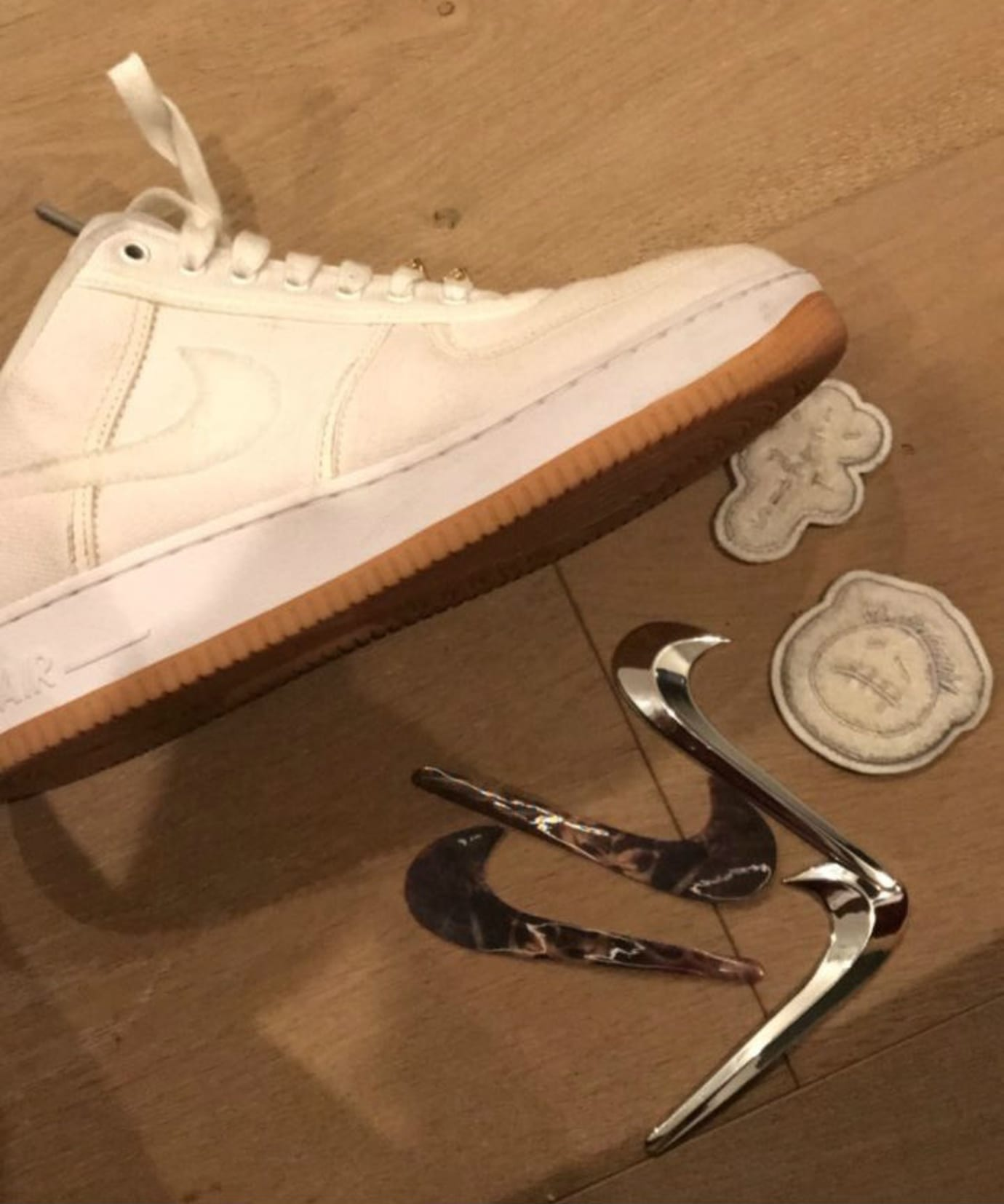 Travis Scott x Nike Air Force 1 Low Cactus Jack (4)