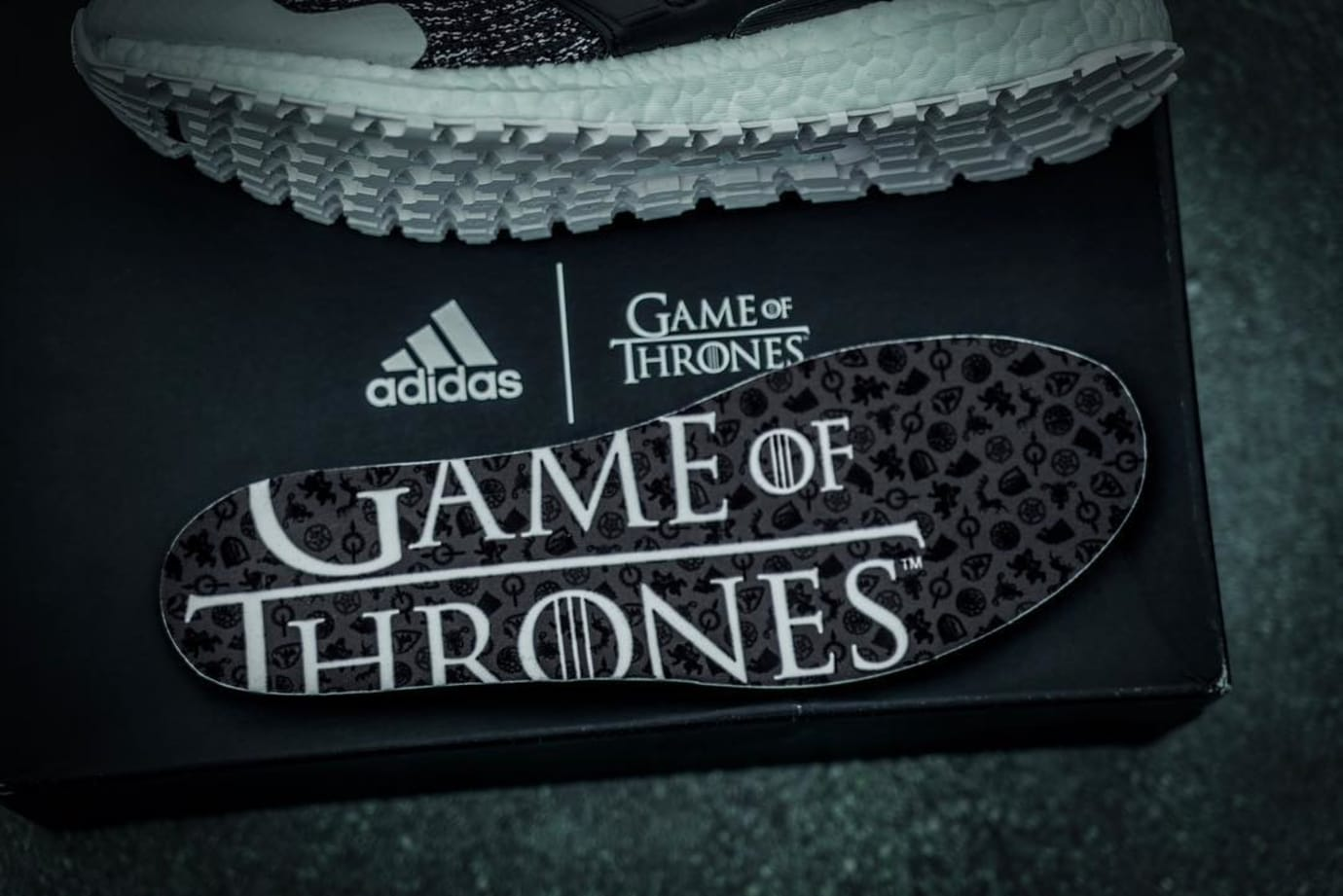 Game of Thrones x Adidas Ultra Boost 'Night's Watch' (Insole)