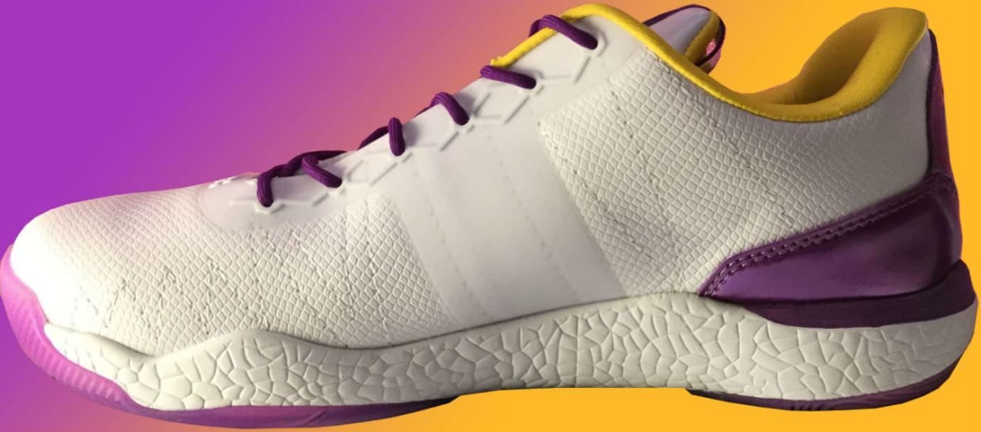Big Baller Brand ZO2 Lakers Medial