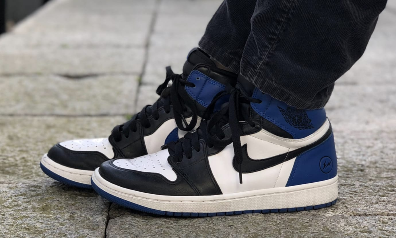 Fragment x Air Jordan 1 Mismatched Sample 2