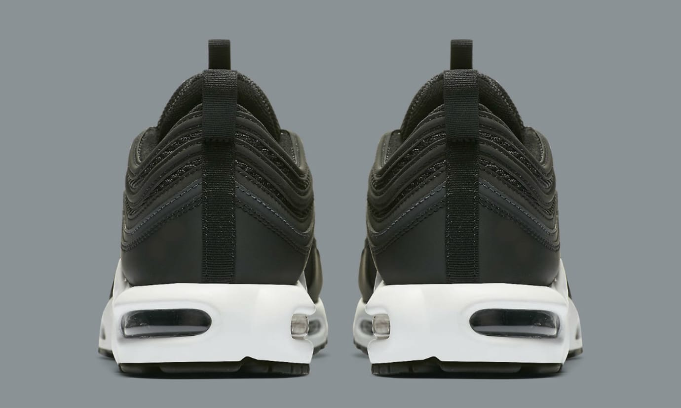 Nike Air Max Plus 97 Black White Release Date Heel AH8143-001