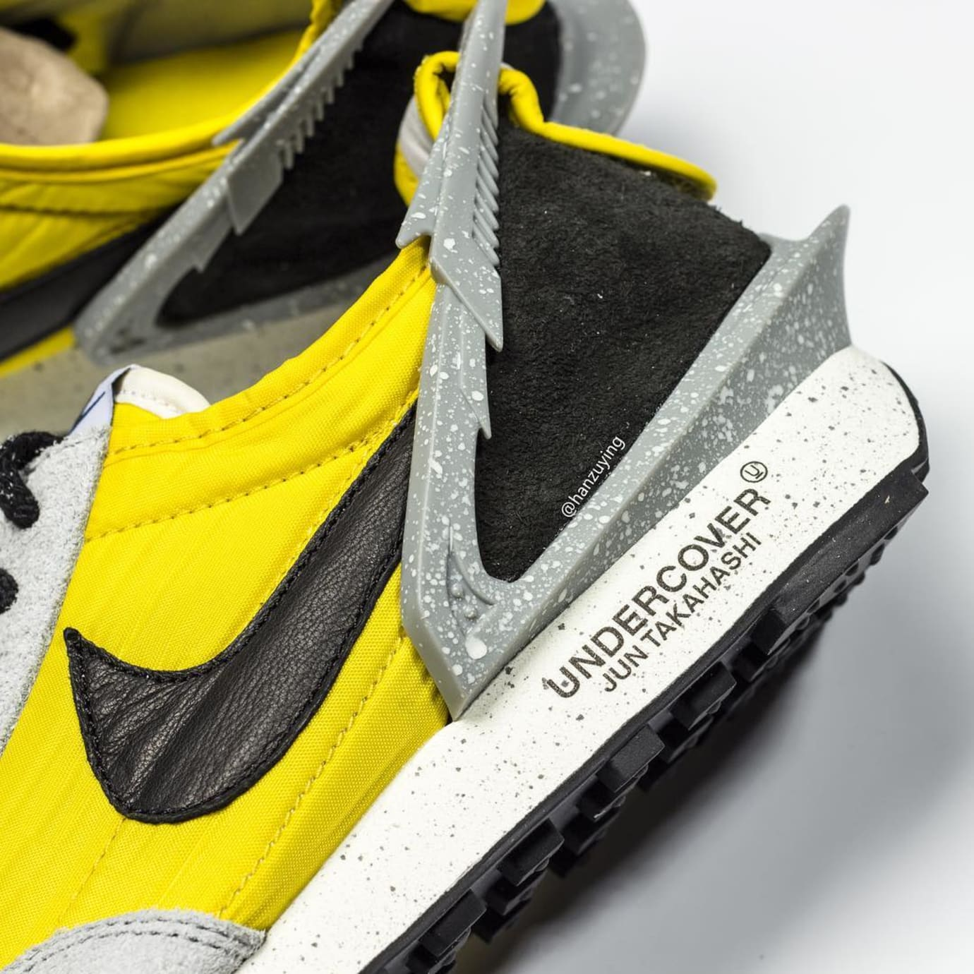 Undercover x Nike Daybreak Yellow/Grey BV4594-700 Heel