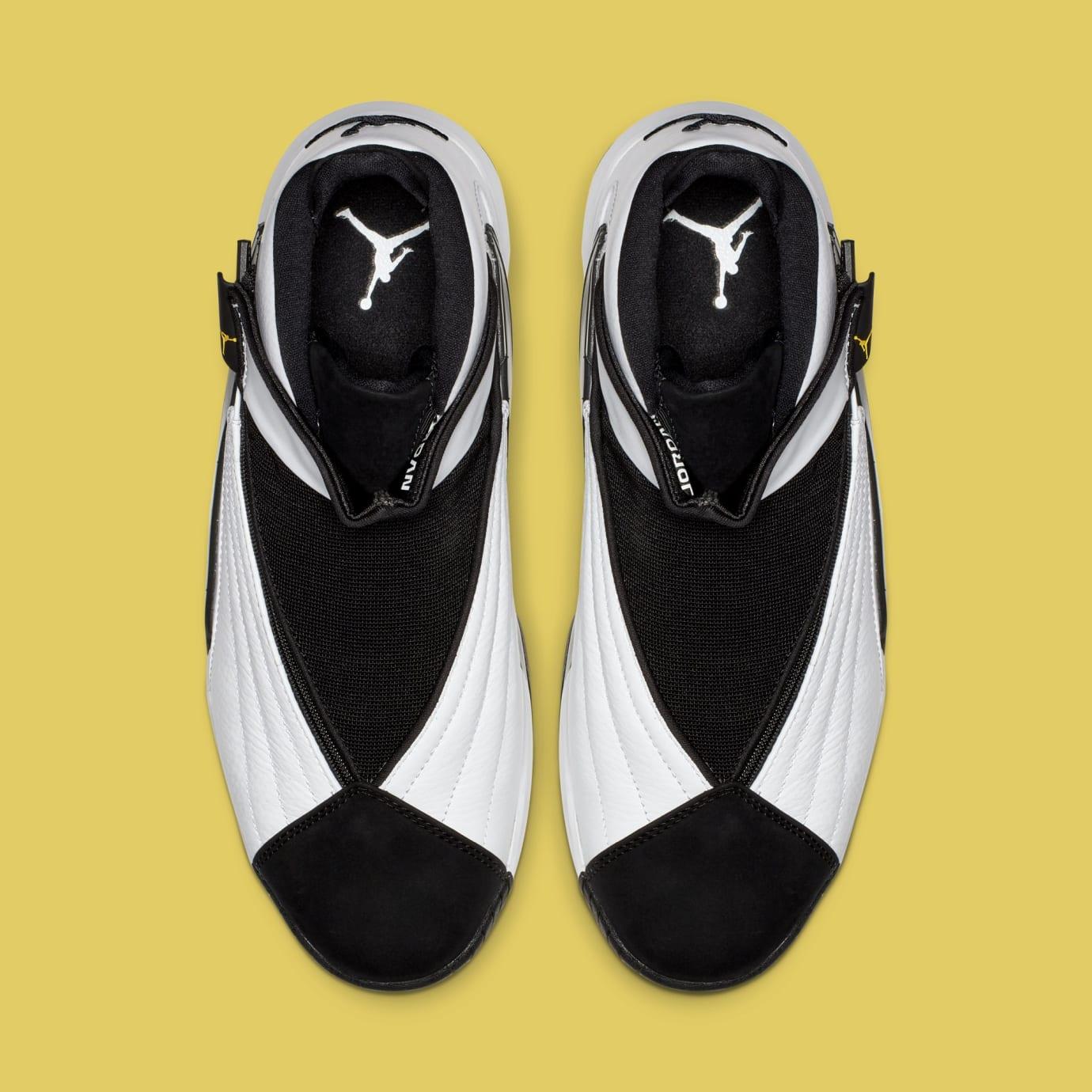 Jordan Jumpman Swift 'White/Black/Tour Yellow' AT2555-100 (Top)