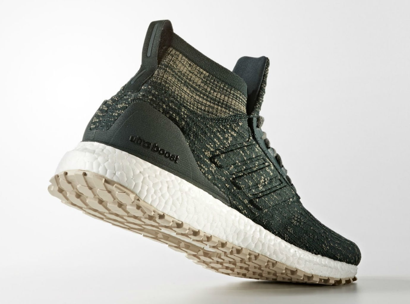 Adidas Ultra Boost ATR Mid Green Tan Release Date Lateral