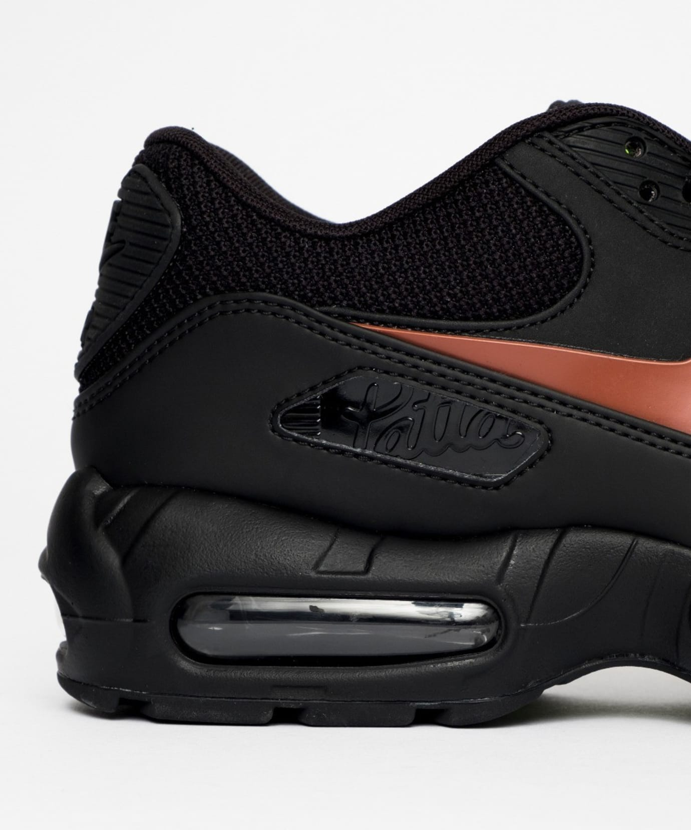 Image via Patta Patta x Nike Air Max 90 x 95  Black  CJ4741-001 (Detail 7d4d07aaa