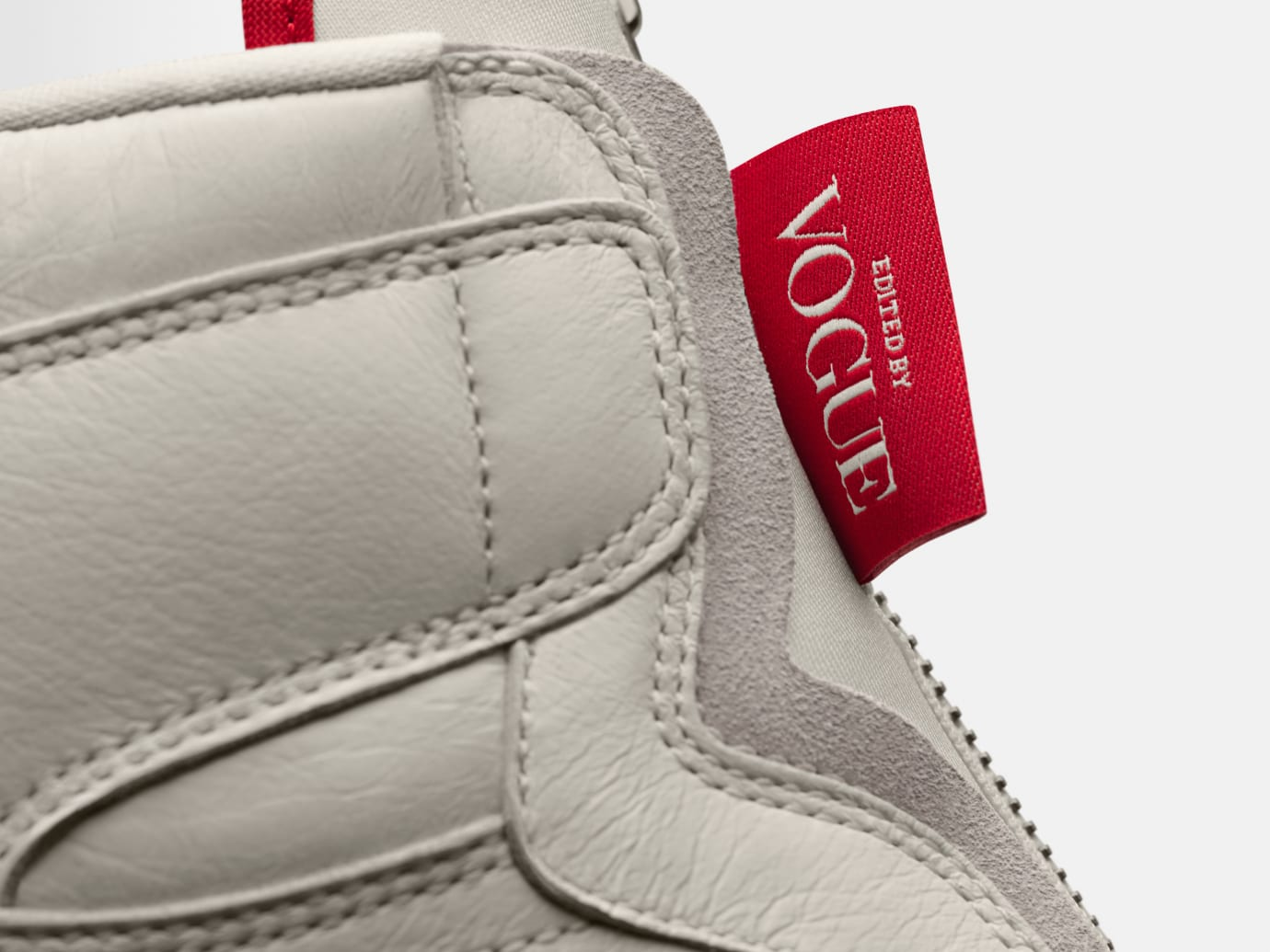 Vogue x Air Jordan 1 Zip AWOK 'Sail' (Detail)