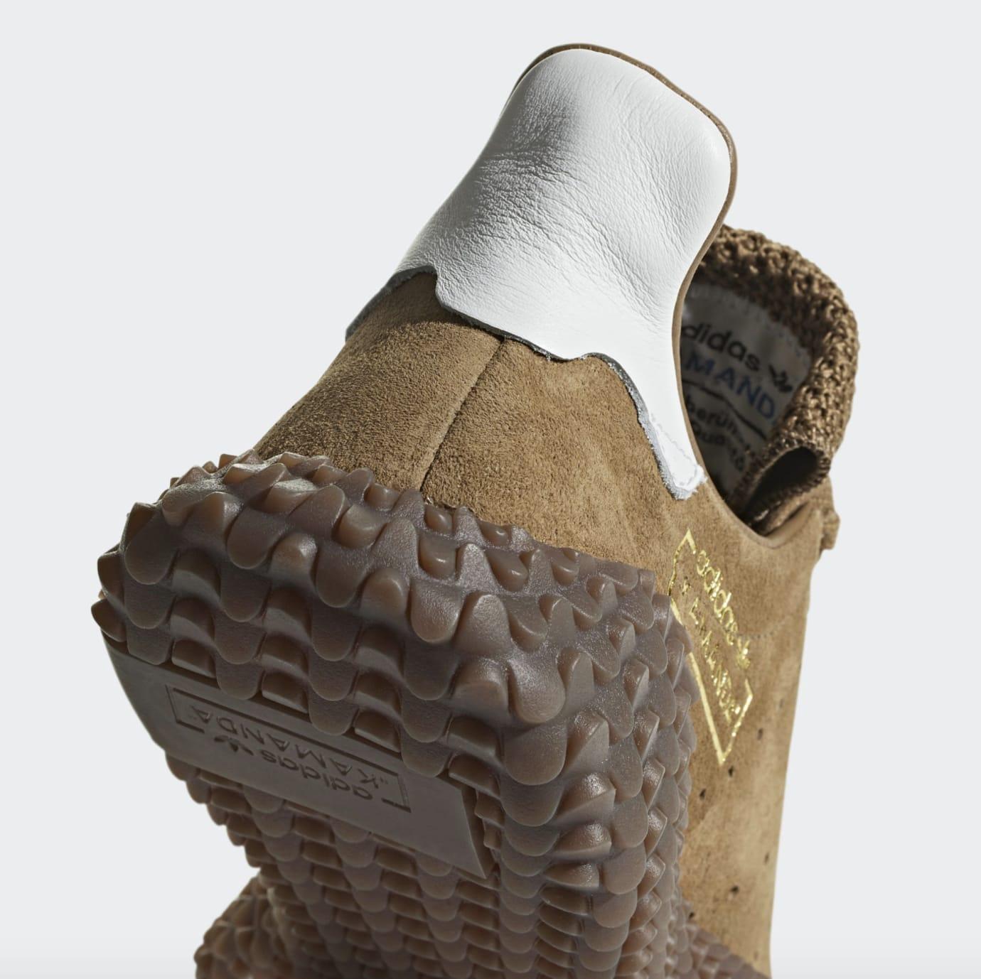 Adidas Kamanda 01 'Brown/Raw Desert/Crystal White' (Detail)
