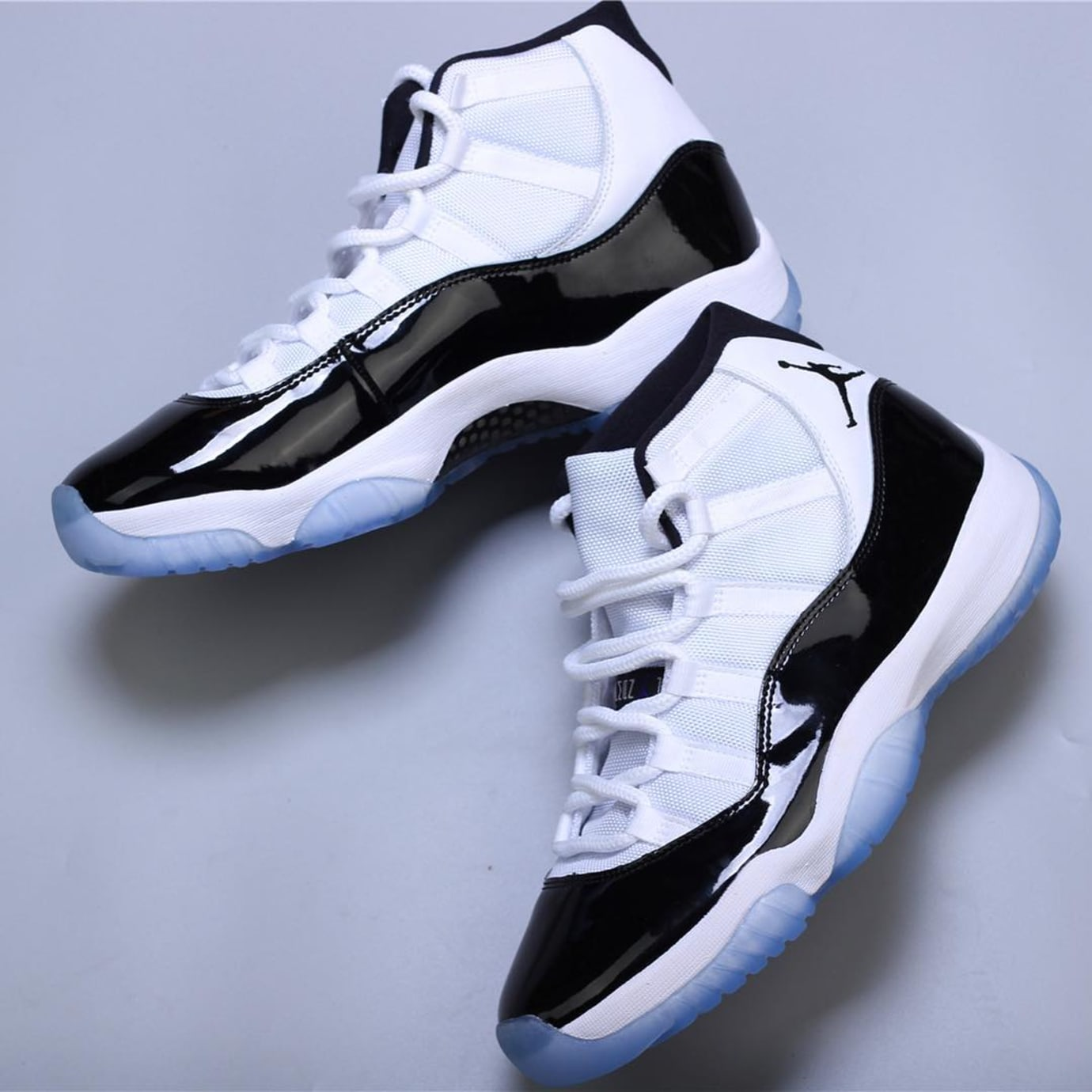 d227ac61712690 Image via hanzuying · Air Jordan 11 XI Concord 2018 Release Date 378037-100  Side