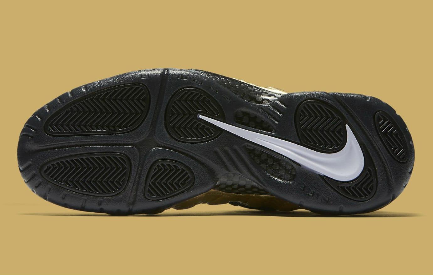 5bcdc479ad5 Nike Air Foamposite Pro Metallic Gold Release Date Sole 624041-701
