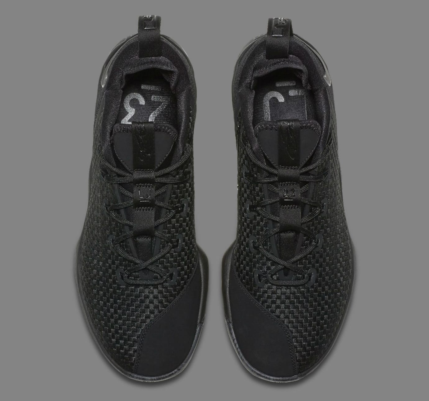the latest 27d56 f7c1d Nike LeBron 14 Low Triple Black Release Date 878635-002 ...