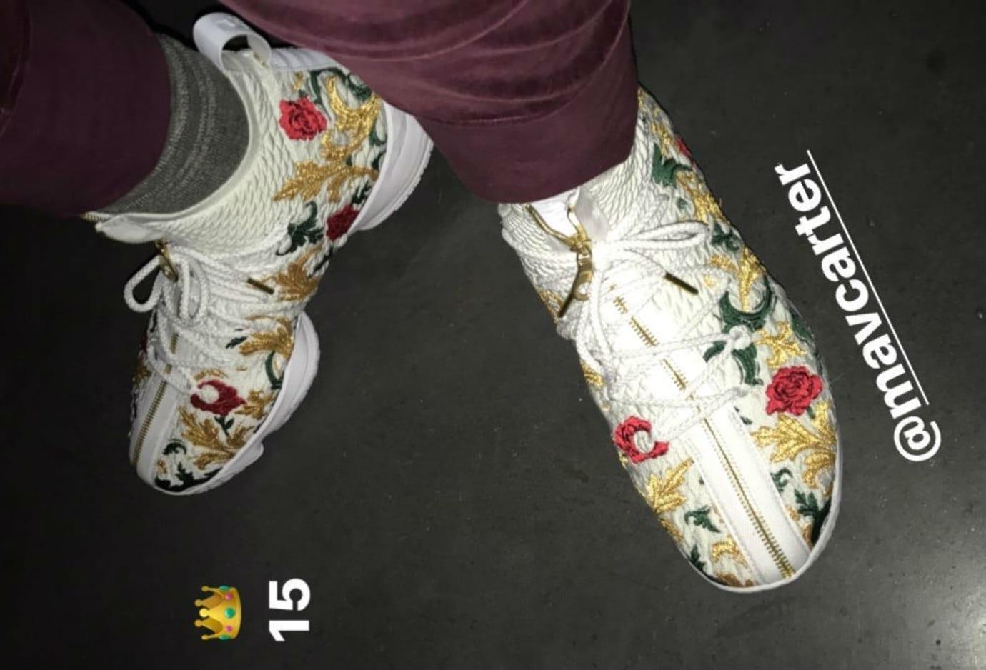 Nike LeBron 15 Floral (1)