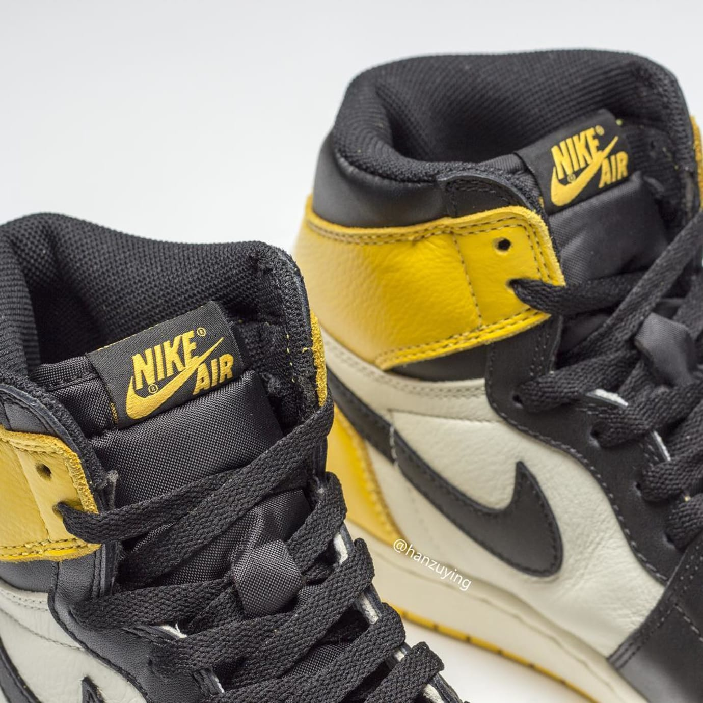 Air Jordan 1 Retro High OG 'Yellow Toe' AR1020-700 Tongue