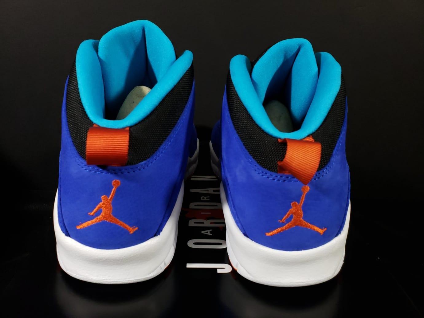 acae8d0003165f Image via Fineline1721 · Air Jordan 10 X Tinker Release Date 310805-408 Heel