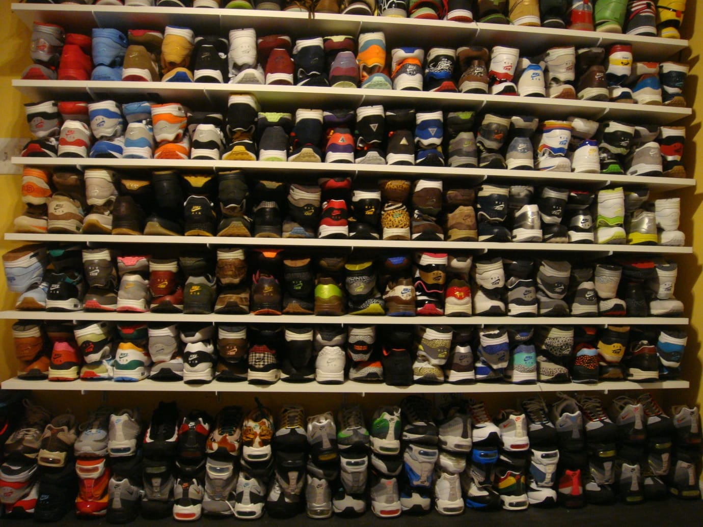 Stack of Sneakers