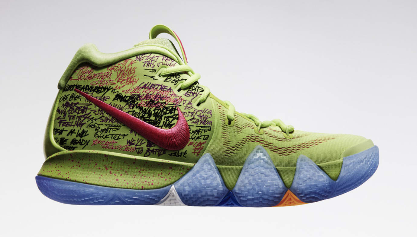 Nike Kyrie 4 Confetti Side
