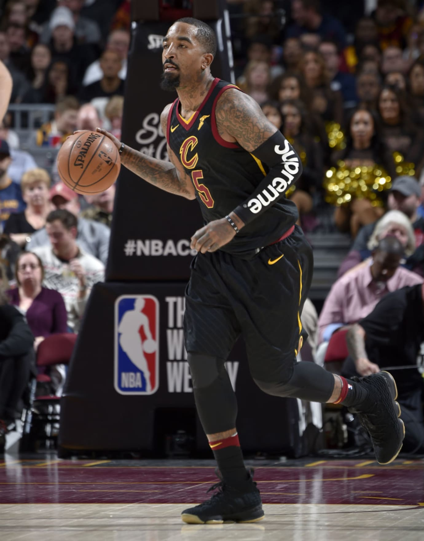 7ae24a52341 J.R. Smith Supreme Shooting Sleeve Black | Sole Collector