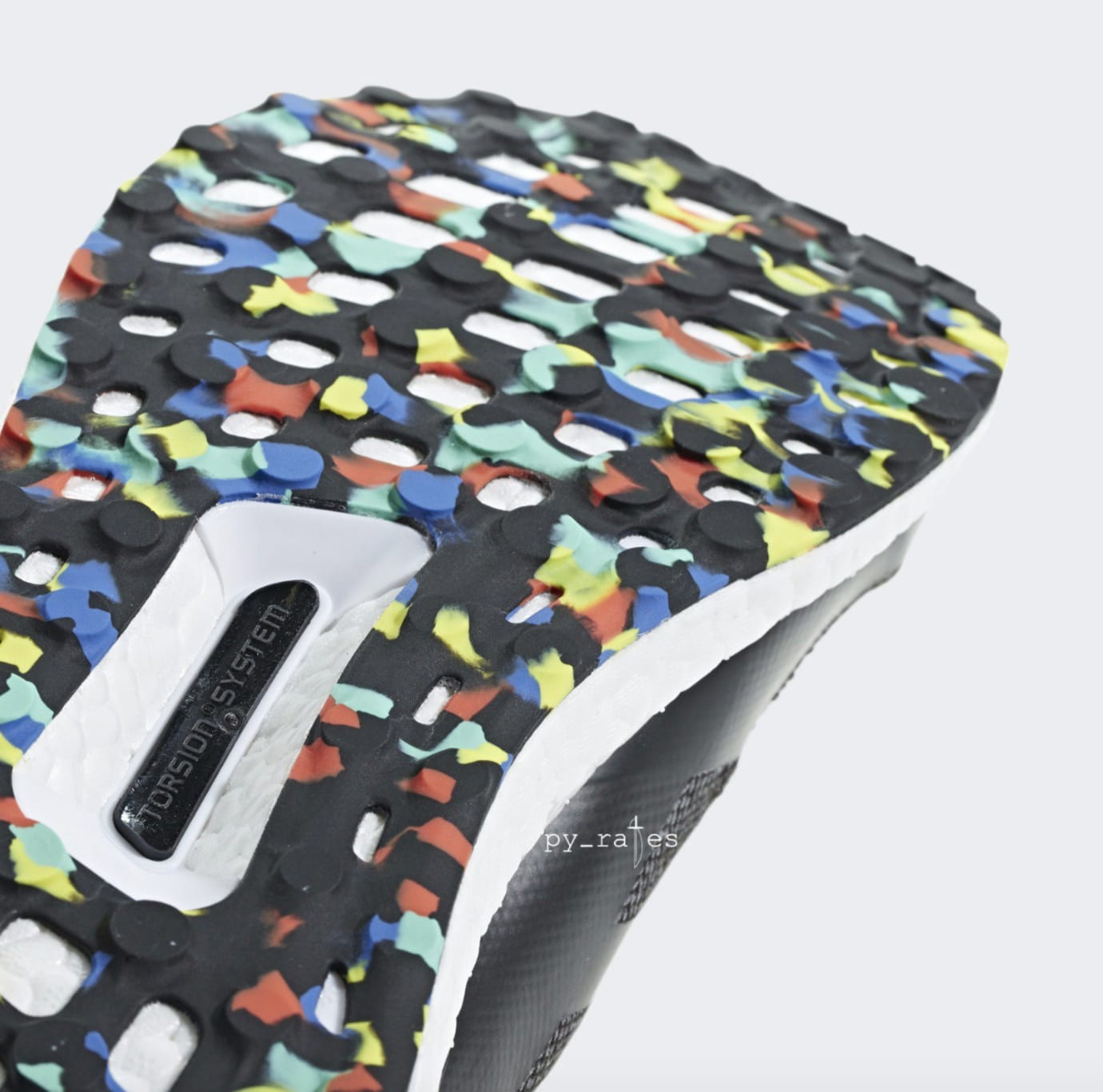 Adidas Ultra Boost Mid 'Black/Multicolor' (Bottom)