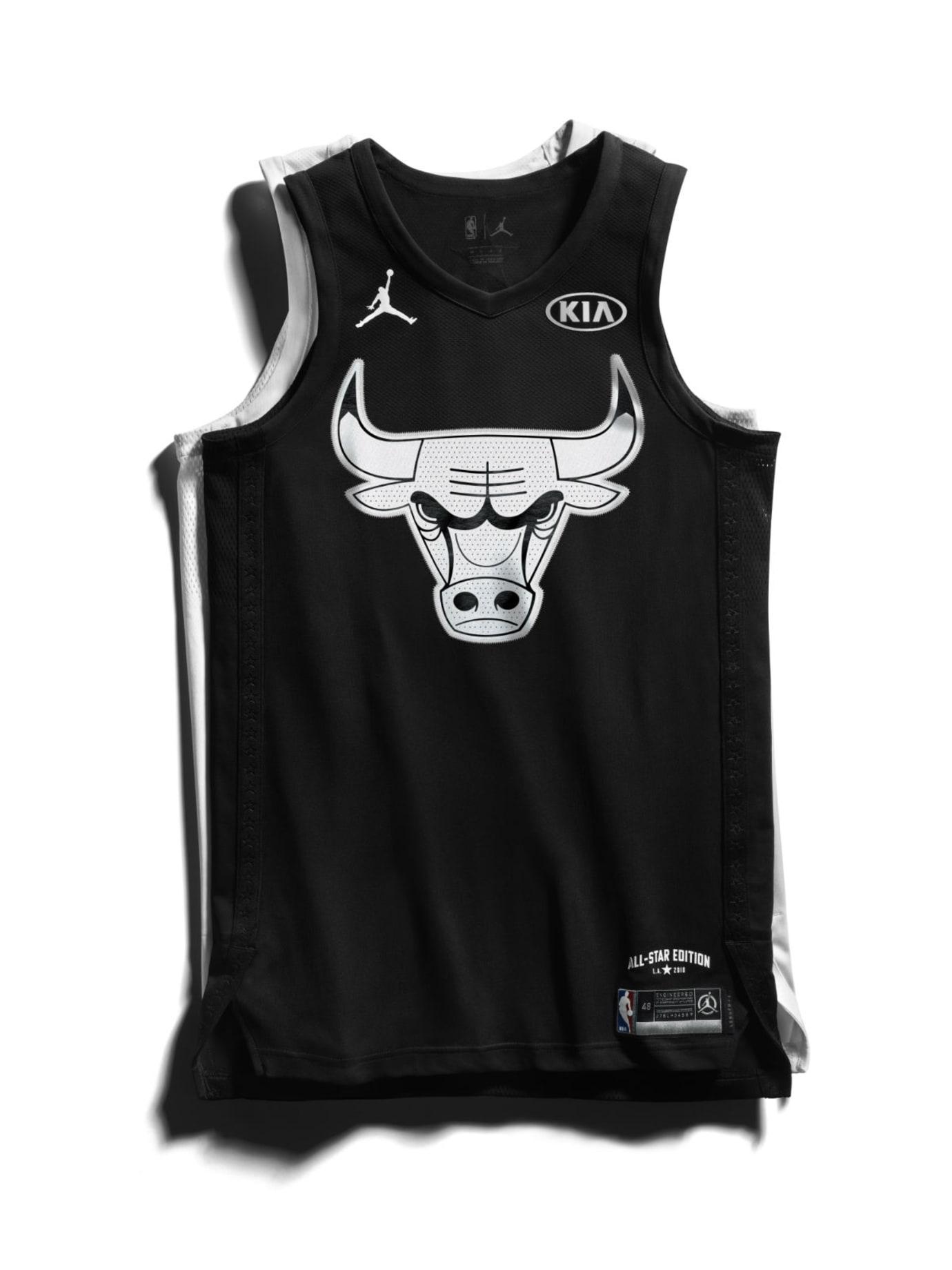 Jordan Brand 2018 NBA All-Star Jerseys Jordan Front