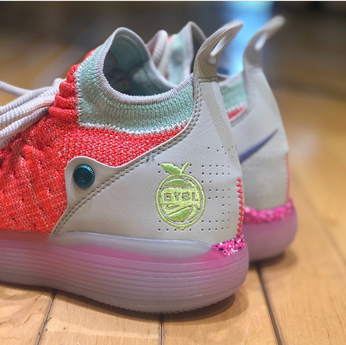 b8d1c7b25f40 Nike KD 11  EYBL  Peach Jam Release Date AO2604-600