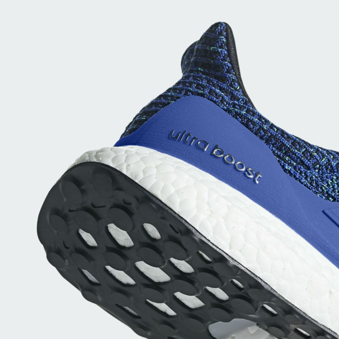 f781c58e2 Image via Adidas Adidas Ultra Boost 4.0 Hi Res Blue Release Date CM8112 Heel
